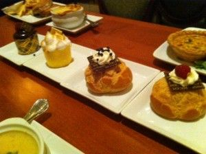 """""""Why You Can't Get Be Our Guest Reservations - Even at 180 Days!!!"""" ~>from yourfirstvisit.net <~ Cupcakes and Cream Puffs at Be Our Guest Restaurant at the Magic Kingdom"""