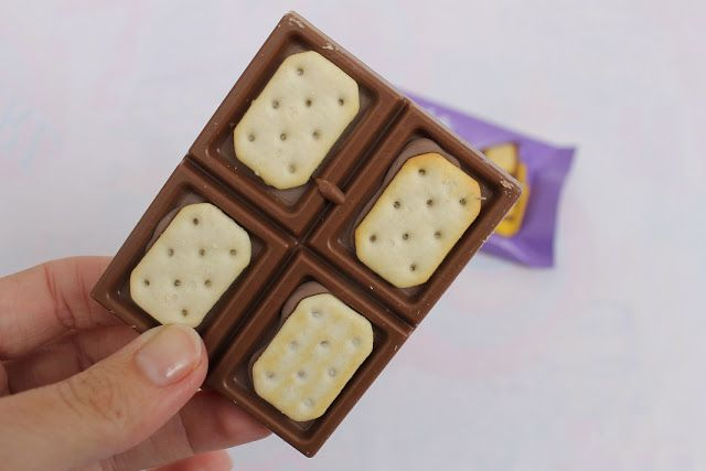 chocolate milka con galletas tuc