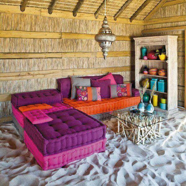 die besten 25 bodenkissen ideen auf pinterest bodensitz gro e bodenkissen und bodenkissen. Black Bedroom Furniture Sets. Home Design Ideas