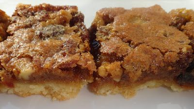 """Butter Tart Squares - """"The first bite of the rest of your life"""" by Beth at Muses and Meringues"""
