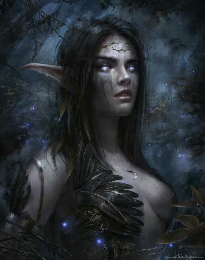 """Night Elf""  By: dropdeadcoheed.deviantart"