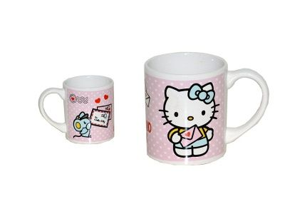 Idee Gadget | Idee Regalo - Hello Kitty Tazza in ceramica lettera To: Hello Kitty