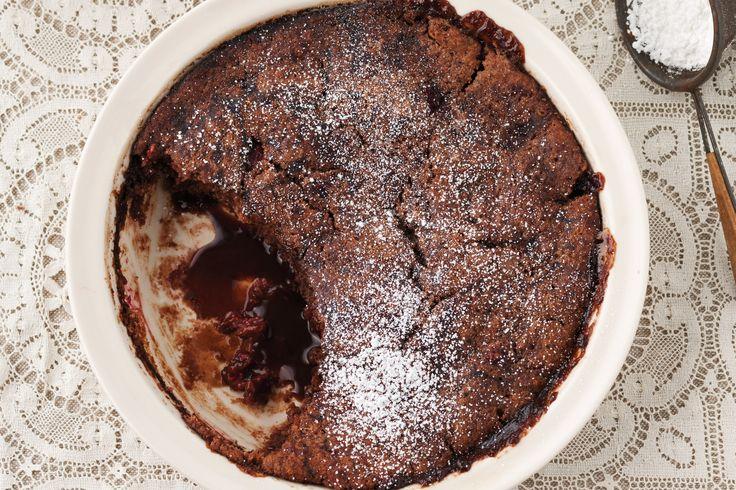Hazelnut and chunky chocolate self-saucing pudding www.taste.com.au/recipes/27654/hazelnut+and+chunky+chocolate+self+saucing+pudding