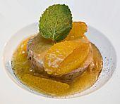 Lebkuchenparfait mit Gewürzorangen (Rezept mit Bild) | Chefkoch.de