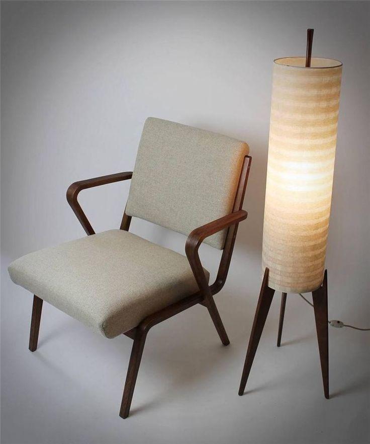 Bauhaus German Selman Selmanagic Lounge Chair /1957 / Restored #Hellerau