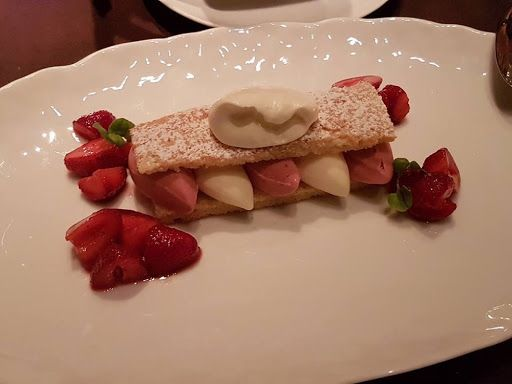 Strawberry shortcake from CUT by Wolfgang Puck