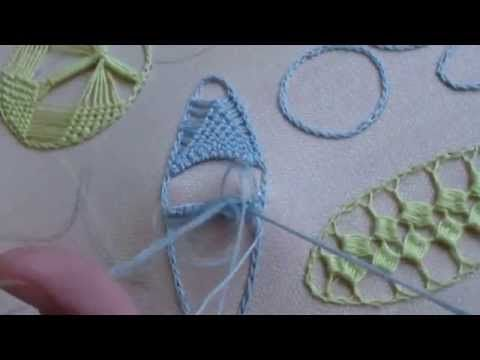 Puncte și cusături ornamentale - Mijloc de steluță - YouTube