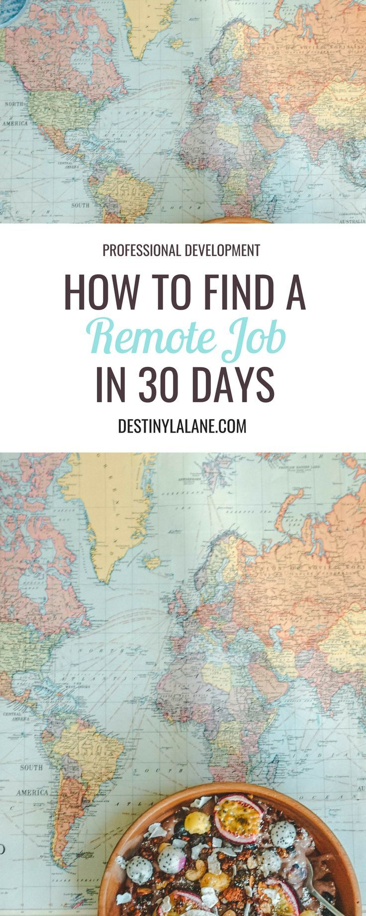 How to find a remote job in 30 days – Larrie Michelle