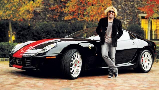 Sammy Hagar's 2008 Ferrari 599 GTB
