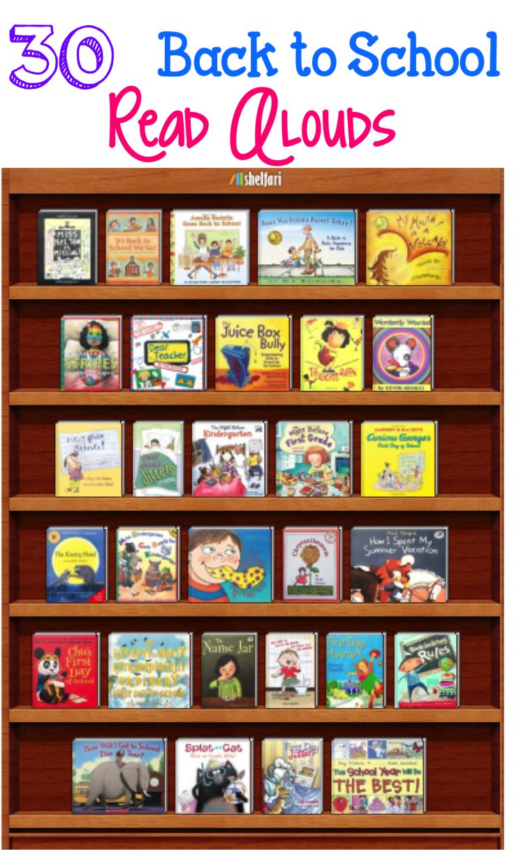 ***Back to School Read Alouds*** 30 books that will allow you to open a discussion and give students opportunities to make connections to your classroom. They also lend themselves well to teaching behaviors and expectations that will be enforced throughout the year.
