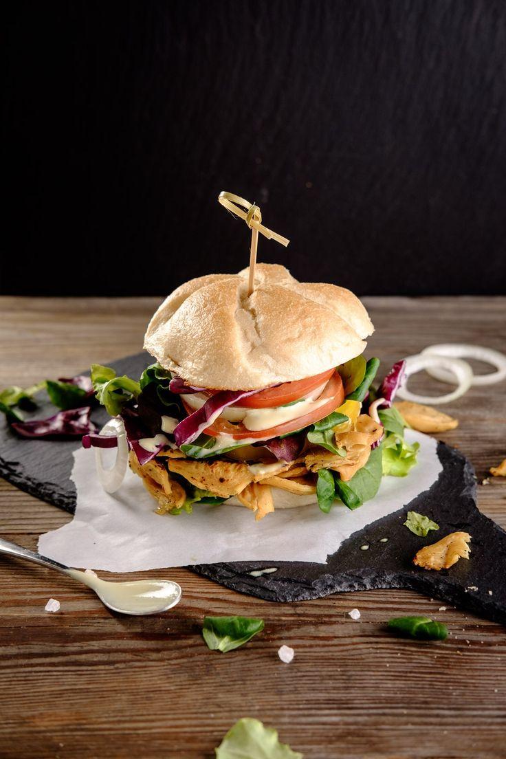 Blue apron lemongrass burger - Pulled Soja Burger