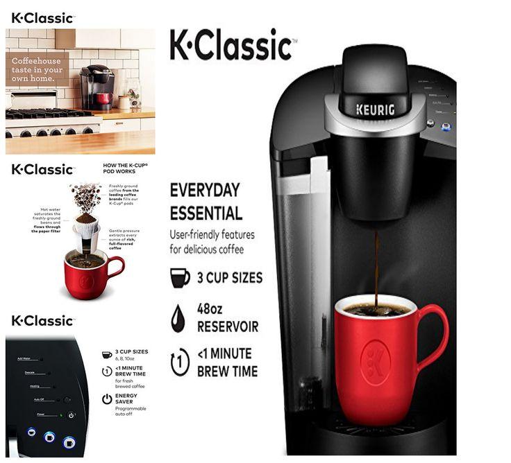 NEW Keurig K55/K-Classic Coffee Maker, K-Cup Pod, Single Serve, Programmable, #Keurig   Classic ...