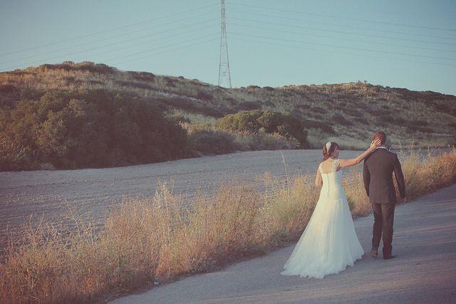 novios camino wedding