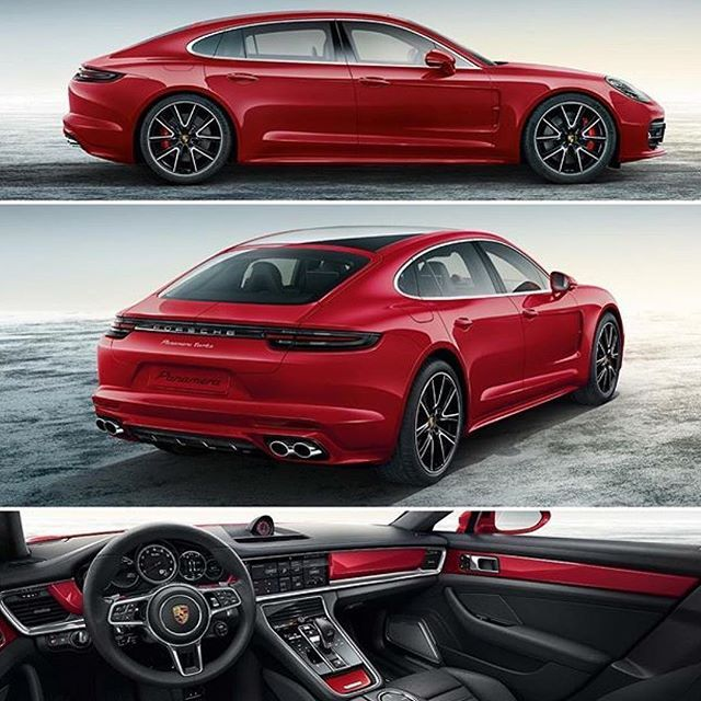 New Panamera Turbo