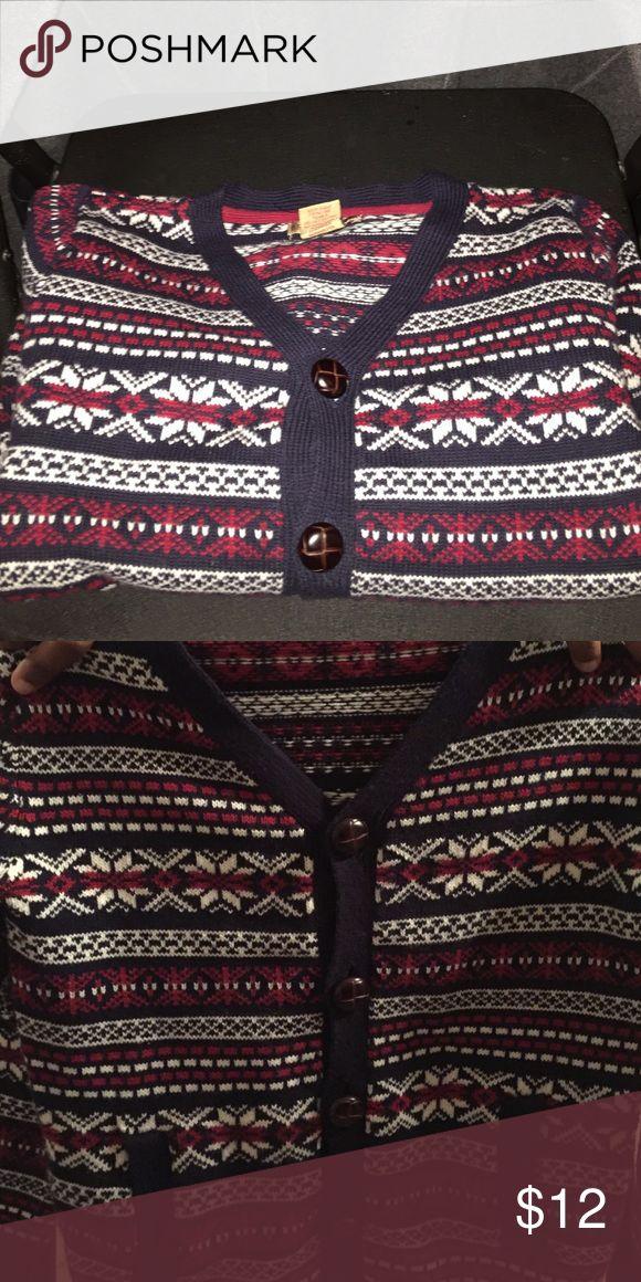 Boys British Khaki Cardigan Holiday cardigan british khaki Shirts & Tops Sweaters