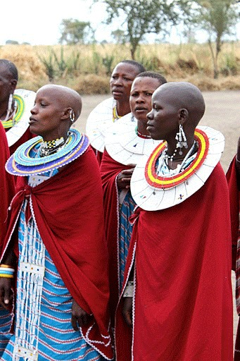 African women (I Imagine I Hear Their Voices Singing)