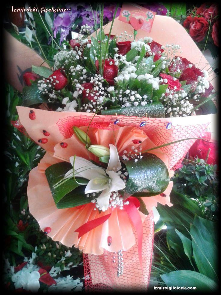 izmir çiğli beytaş çiçekçilik:   Gül Buketi ,incelemek için tıklayın.. !!! http://www.izmirciglicicek.com