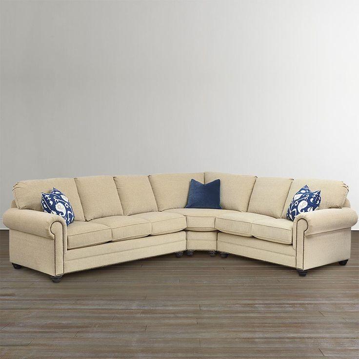 custom upholstery large l shaped sectional. Black Bedroom Furniture Sets. Home Design Ideas