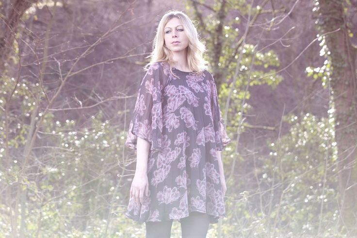 Jane Weaver in an Ivana Helsinki dress. The #singer / #songwriter collaborated with Ivana Helsinki to create a video and the original music for the Indian Summer collection #moodfilm #indiemusic #femalesinger