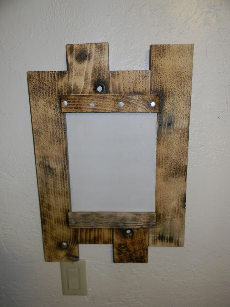 8X10 Picture Frame from used Pallet wood by ...