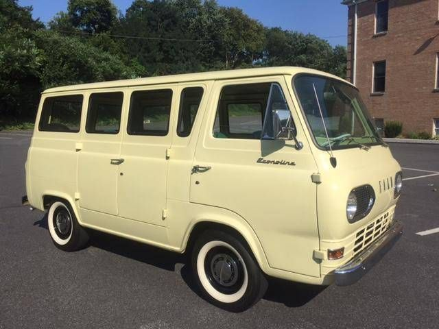 1965 Ford Econoline Ford Classic Cars Ford Ford Motor Company