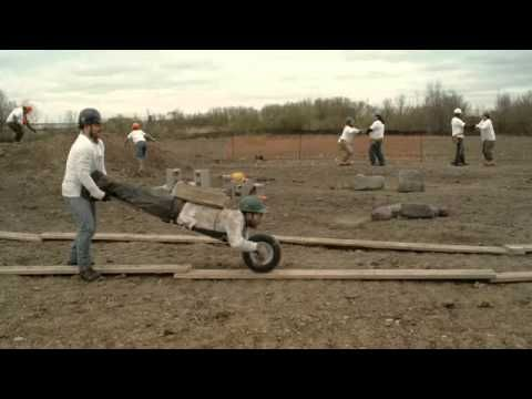 Habitat For Humanity 'Man Barrow' Commercial - YouTube
