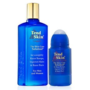 Tend Skin have been discovered. Tend Skin will improve the appearance of razor bumps, ingrown hairs, and redness caused by hair removal. Excellent for both women and men, you will see results in 24 hours!
