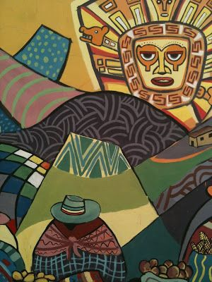 The Adventure Begins: Sucre and Bolivian Art