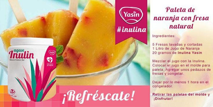 Nada mejor ni más saludable para contrarrestar el calor de primavera que una paleta helada de frutas de la estación. #recetas