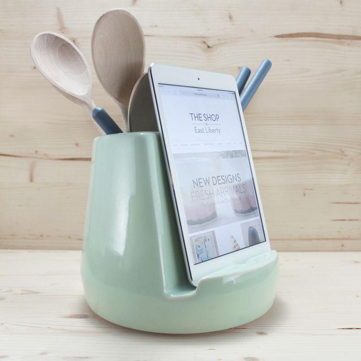 Stak Ceramics Mint Kitchen Dock...WANT!!