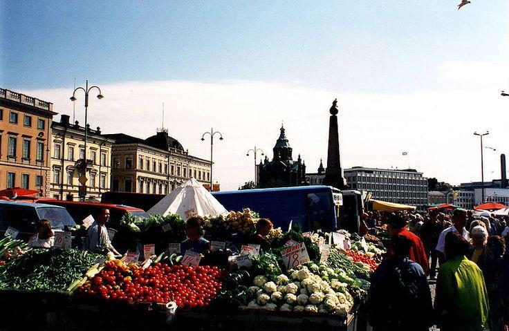 Kauppatori (Market Square) in Helsinki