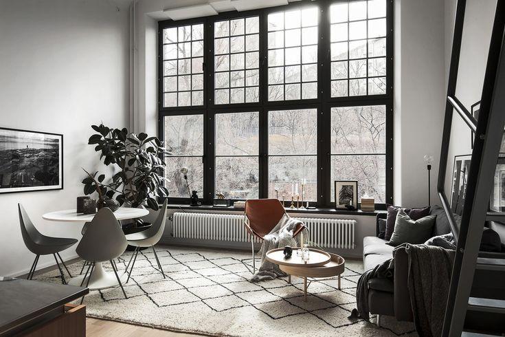 Scandinavian loft Follow Gravity Home: Blog - Instagram - Pinterest - Facebook - Shop