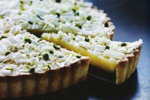 Lemon curd tærte - Kage/dessert - Opskrifter - Mad og Bolig