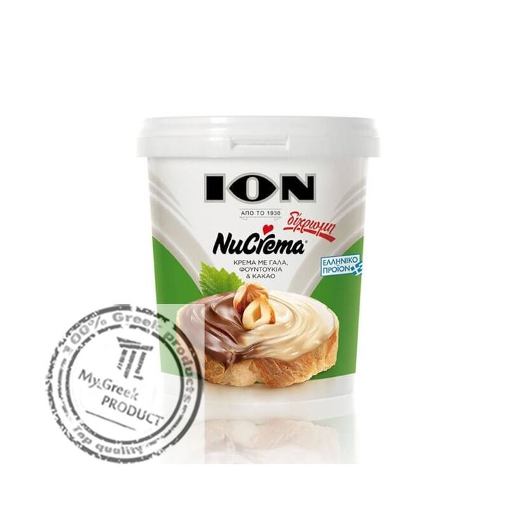 A new version of Nucrema in two delicious flavors are combined in the same package online at MyGreekProduct