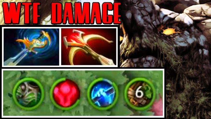 WTF DAMAGE - MERACLE PLAYS TINY - DOTA 2 PATCH 7.07 PRO GAMEPLAY