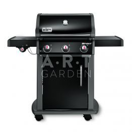 barbecue gaz spirit original e 320 gbs noir weber face. Black Bedroom Furniture Sets. Home Design Ideas