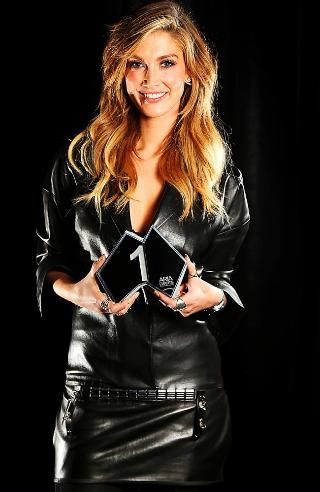 She's back on top ... Delta Goodrem says she is very proud of the success of her…