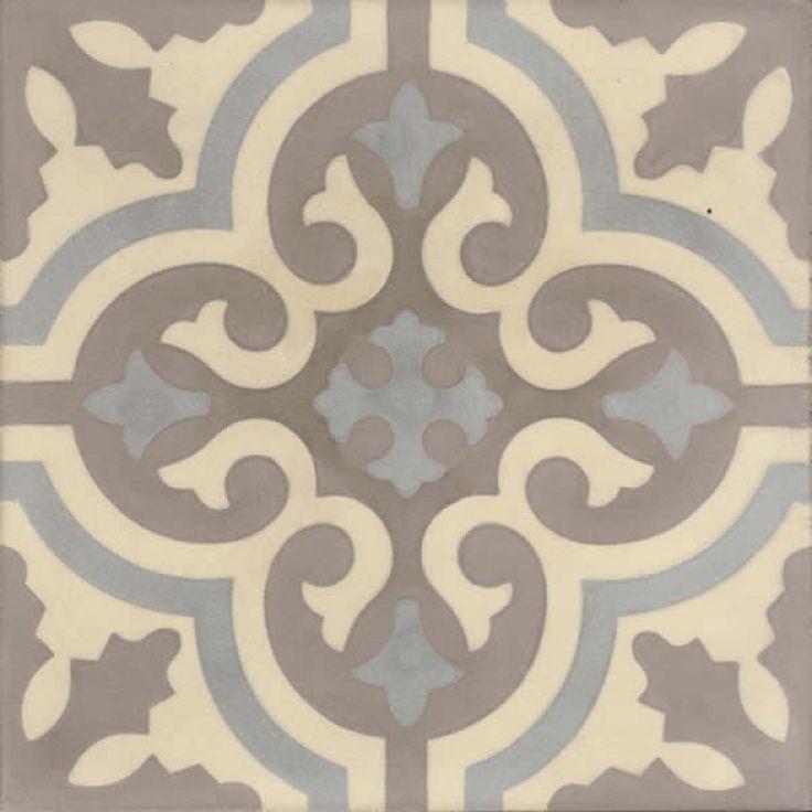 Moroccan Encaustic Cement Pattern gr05