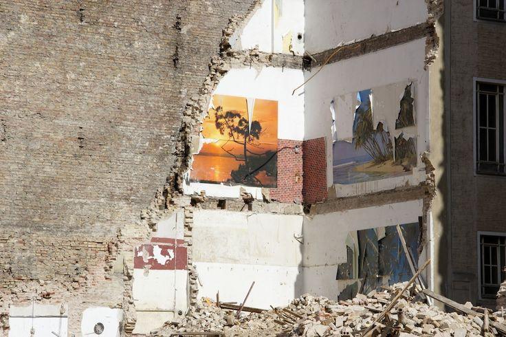 Donnerstag, 17.09., 13.18 Uhr – Moabit, Turmstraße: Berlin im Wandel, in Moabit wird die Schultheiß Brauerei abgerissen, um Platz für ein neues Einkaufszentrum zu machen. © Debora Ruppert