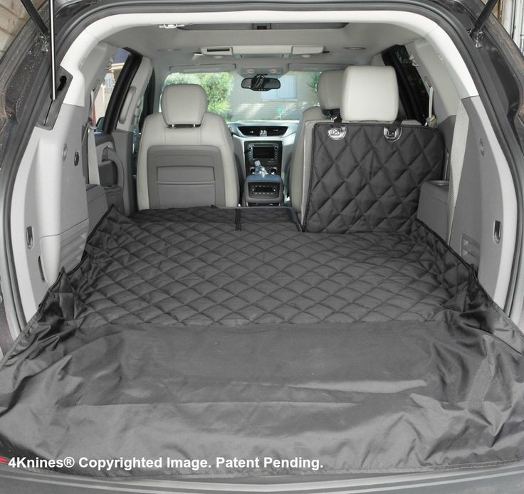 Suv 60 40 Split Cargo Cover Liner For Dogs And Pets Extra Large