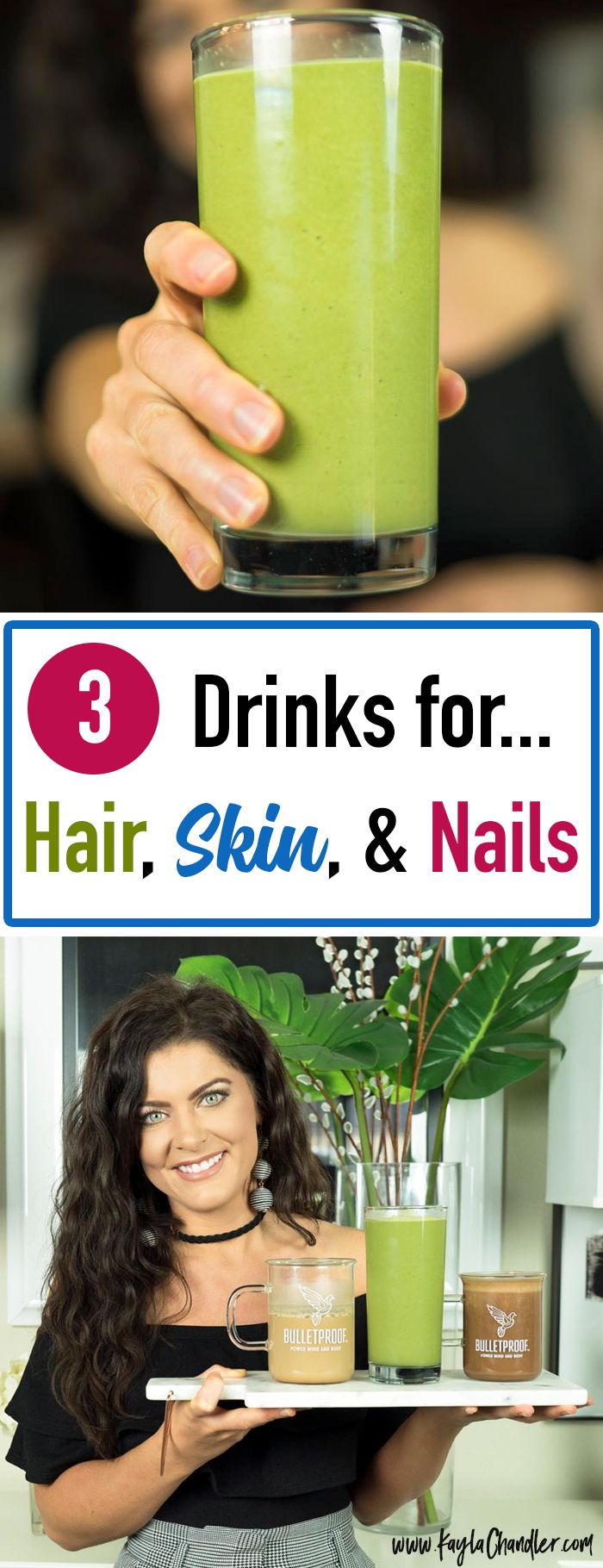 3 COLLAGEN DRINKS FOR HAIR, SKIN, NAILS | HEALTHY SKIN | HEALTHY HAIR