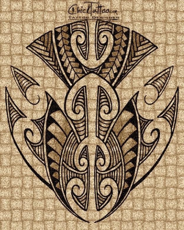 Maori Style Tattoo Designs by ChickTattoo
