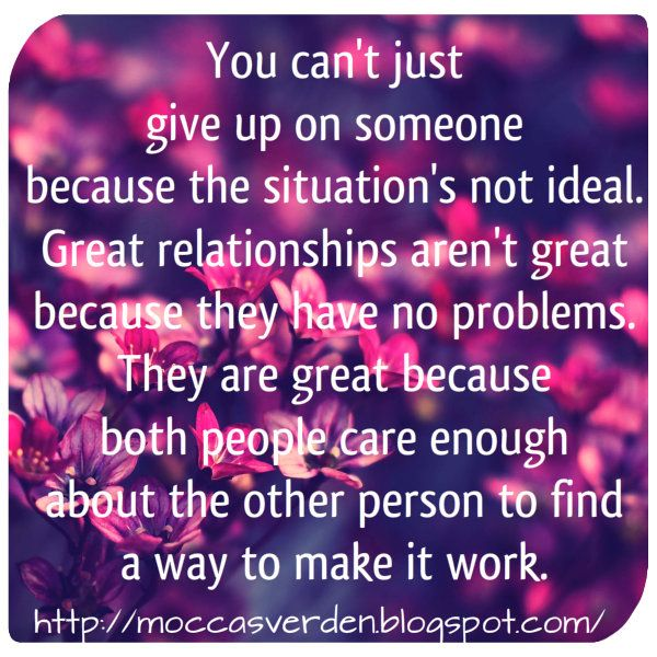 Love Your Life: Great relationships