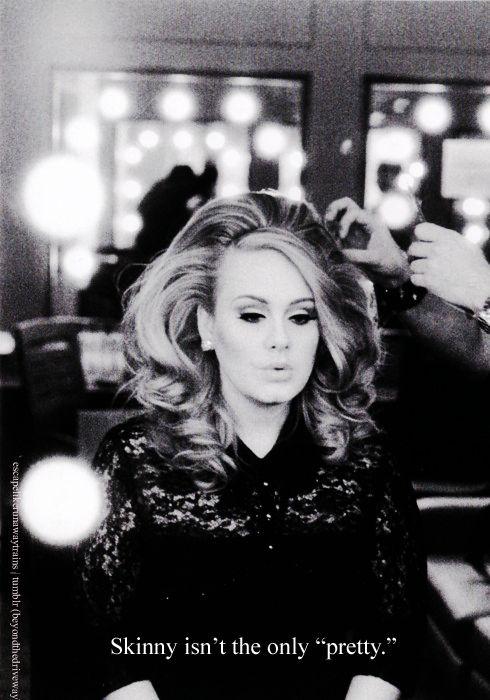 listen to Adele, ladies