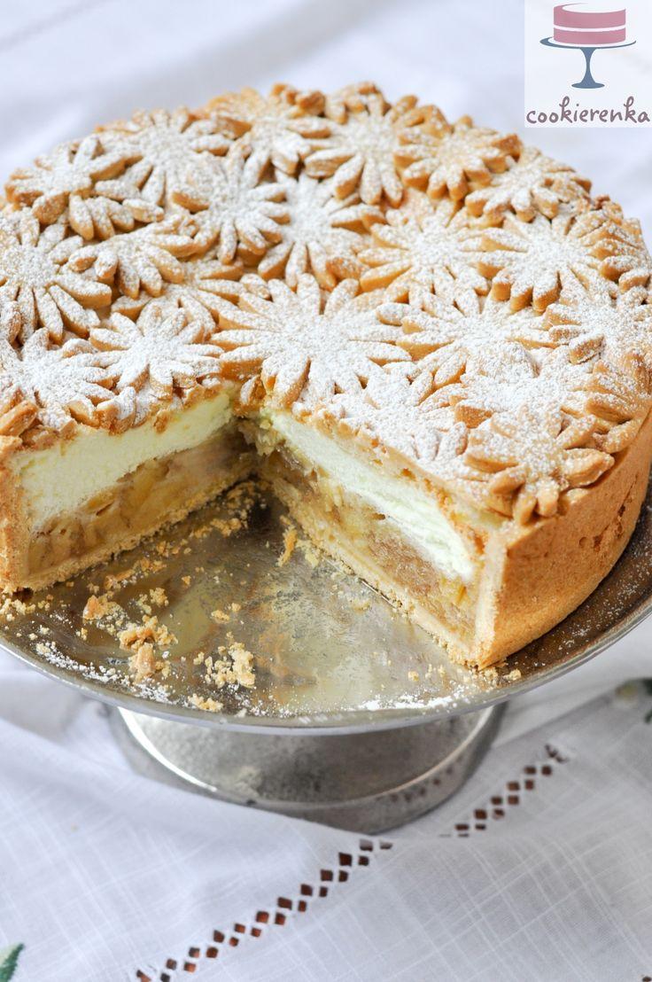Domowa cookierenka Agi: Szarlotka z cytrynową pianką