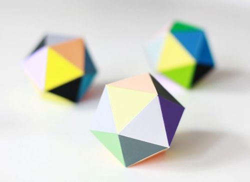 Triangle paper box  http://www.lily.fi/