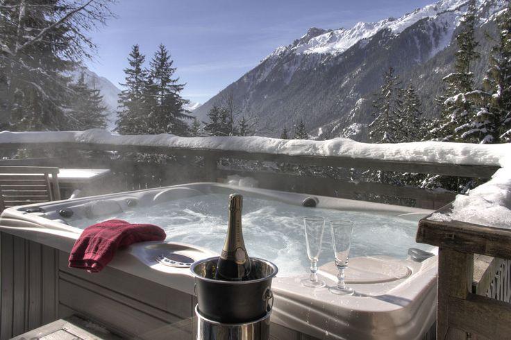 Hotel restaurant Chamonix - Location de chalets avec jacuzzi privatif