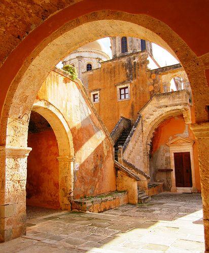 Geometry, Agia Triada Monastery, Akrotiri Peninsula, Crete