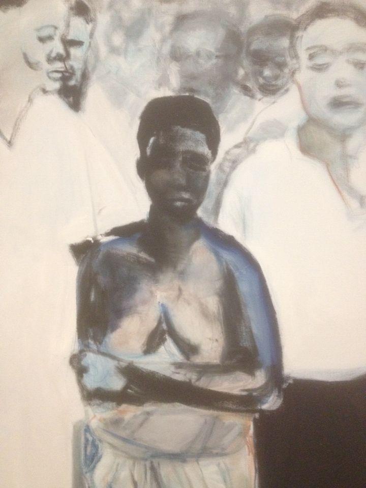 Marlene Dumas, the Widow , Amsterdam 2014