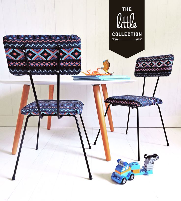 The Little Collection kids retro style chair - MADDOX chair